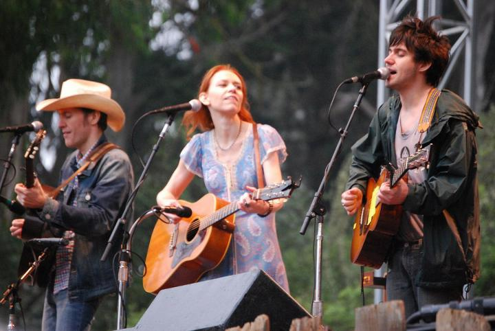 Dave, Gillian and Conor Oberst