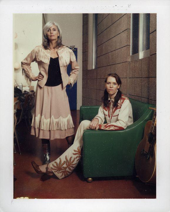 Emmylou Harris and Gillian Welch