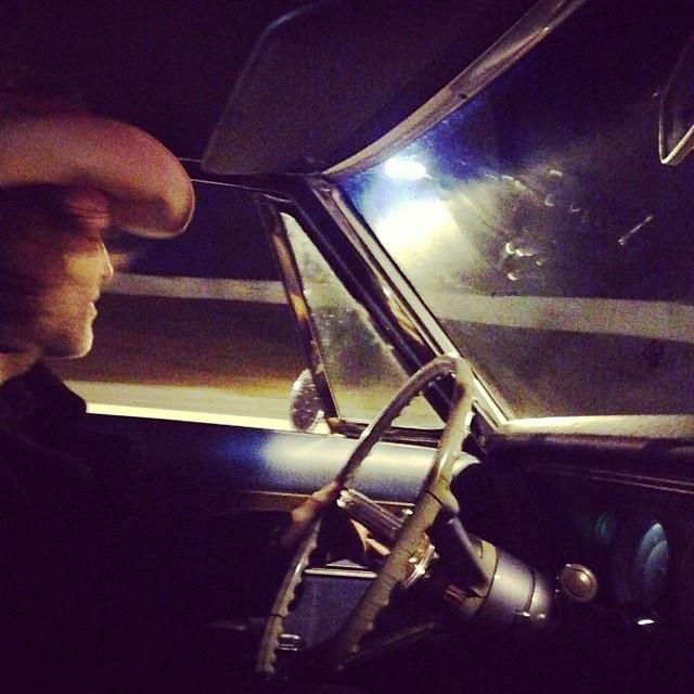 Dave still driving, Nashville, 2013