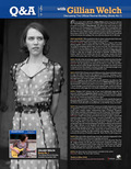 GILLIAN WELCH: An EXCLUSIVE Q&A